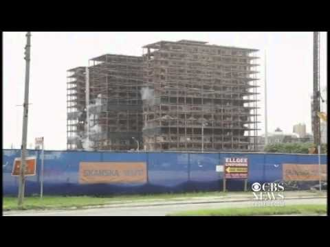 Watch: New Orleans hotel implosion