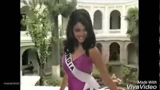 Tanushree Dutta at Miss Universe 2004 / Tanushree Dutta Miss India 2004