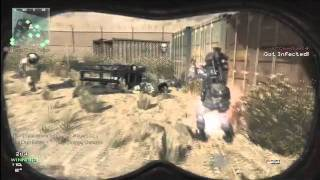 MW3 MOAB: Seatown Infected MOAB   Striker vs Knife - Getplay