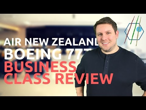 Air New Zealand 777 Business Class Review