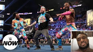 Big E reacts to Kevin Owens becoming an honorary New Day member: WWE Now