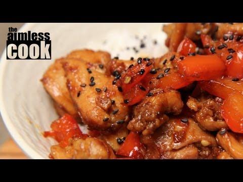 Chili Chicken & Red Pepper Stirfry