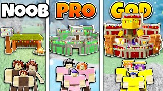 Build A Boat Noob Vs Pro Vs Master Roblox