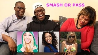 SMASH OR PASS WITH MY PARENTS