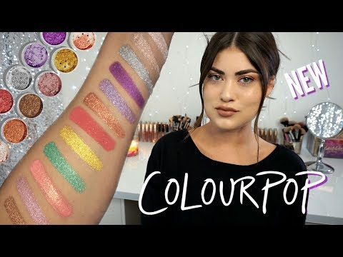 New COLOURPOP SUPER STAR Loose Eyeshadow! All 12 Swatches ⭐