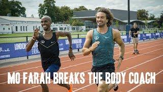 Mo Farah Breaks The Body Coach | August 2017