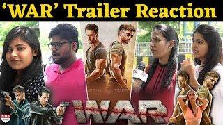 War   Trailer Reaction   Hrithik Roshan   Tiger Shroff   Vaani Kapoor  