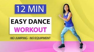 12 Minuten Easy Dans Workout   Afslanken   Conditie   Vet Verbranden   Beginners