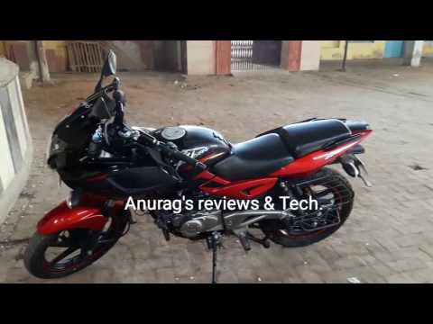 Make your Pulsar 220 exhaust sound better with  stock Exhaust. Ride safe check link