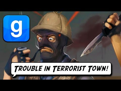 Trouble in Terrorist Town Funny Moments! (Garry's Mod!)