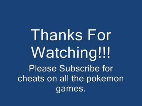 Pokemon Diamond Action Replay Master Ball Code & Cheat