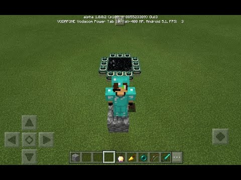 Mcpe 1.0.0.0 how to always make the end portal work