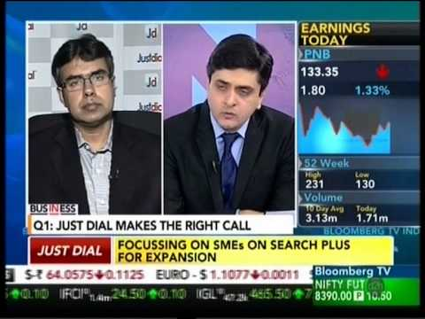 Justdial featured In Business - Bloomberg TV