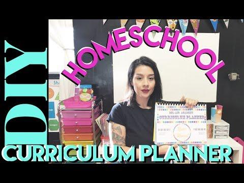 Homeschool Curriculum Planner, DIY !