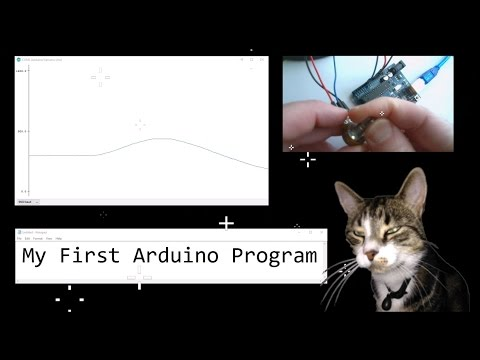 My First Arduino Program by Cosmo Cat