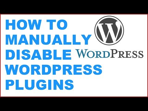 How to manually disable Wordpress Plugins via cPanel if can not access the wordpress dashboard