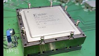 Xilinx VU13P FPGA First Look and XUPVV4 Board Preview (Feb