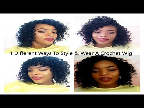 4 Different Ways To Style and Wear A Crochet Wig | GoldQueen Queency