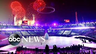 Highlights from the Olympic opening ceremony