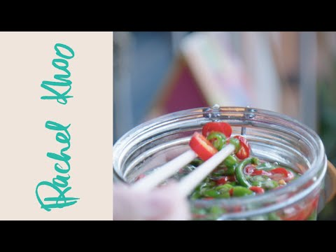 Rachel Khoo Pickled Chilli