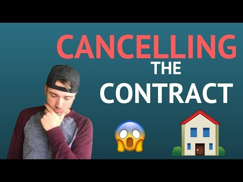 How To Cancel The Contract In Real Estate Wholesaling