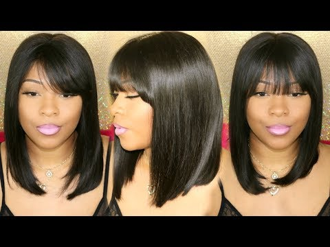 Perfect Protective Wig For Lazy Hair Days | Lace Frontal Bob Wig | DivasWigs