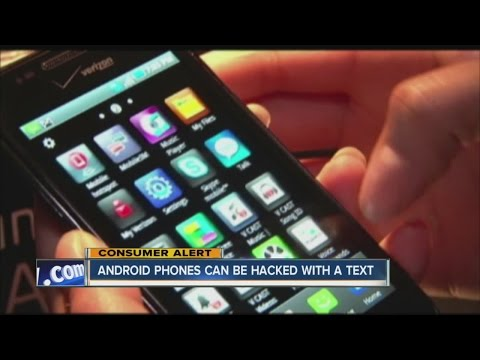 Simple text can hack Android phones