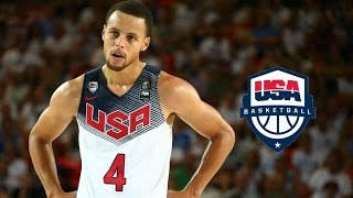 Stephen Curry Team USA Offense Highlights (2014) - 3 Point GOD!