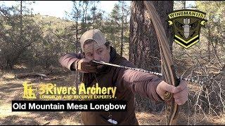 Montana Bow Toelke Pika 2 Piece Take Down Longbow - PakVim
