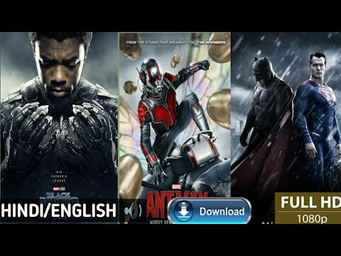 BlackPanther,Batman Vs Superman, AntMan, Full Hd Movie Download In Hindi.🤘😀