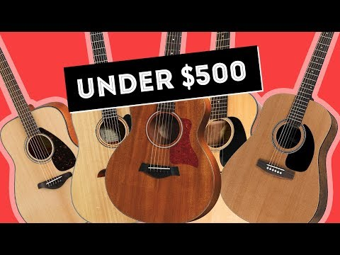Tony's Top 5 Beginner Acoustic Guitars Under $500