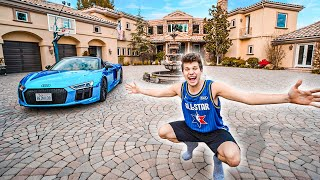 EXCLUSIVE TOUR OF THE NEW BUCKETSQUAD HOUSE!!