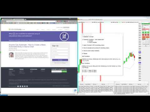 Anyone Can Autotrade - How to a Create Basic Automated Entry in Sierra Chart