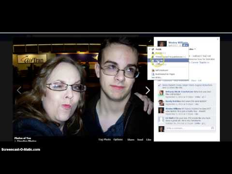 HOW TO MAKE MY FACEBOOK PICTURES PRIVATE