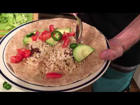 My Best Burrito Recipe with Rice & Beans