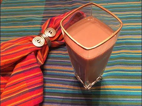 Chocolate Soymilk _ 2 minutes