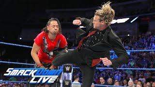 Dolph Ziggler crashes Shinsuke Nakamura