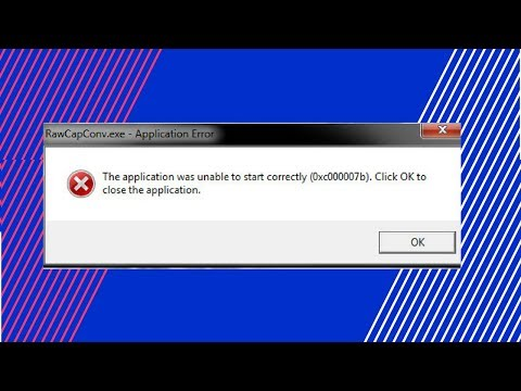 How to Fix 0xc000007b Application Error | The Application was Unable to Start Correctly