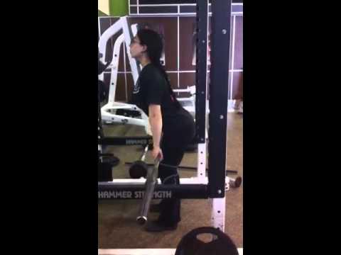 More hang clean practice