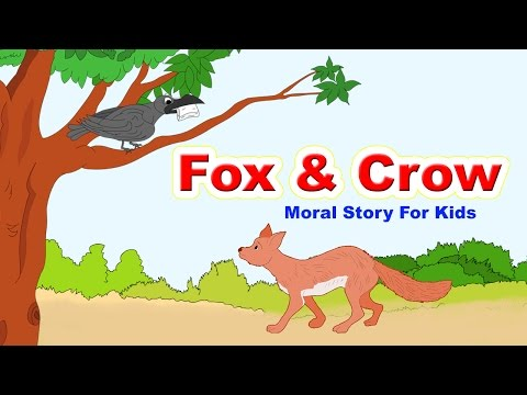 Fox and Crow Story In English I Moral Bedtime Stories For Kids In English   English Stories For Kids