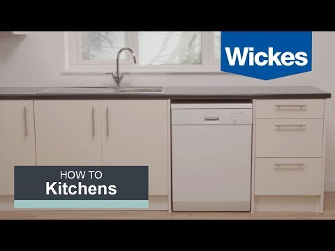 How to remove and replace a dishwasher with Wickes