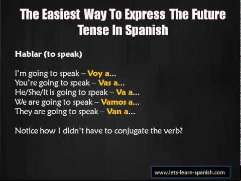 Learn Spanish - Learning Spanish Verbs Made Easy!