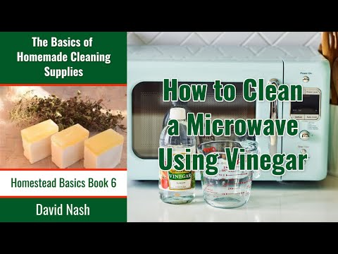 Cleaning a Microwave with Vinegar