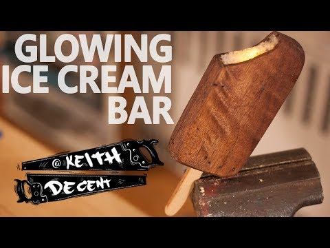 GLOWING ICE CREAM BAR - a Decent project