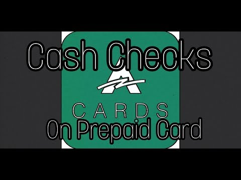 Cash checks with your phone on your Prepaid Debit card.