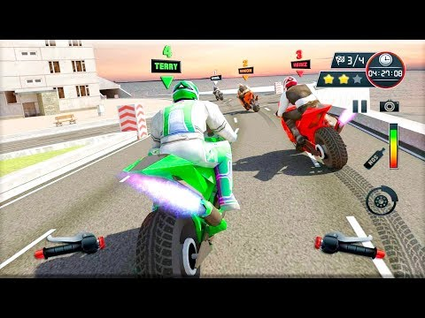 City Street Bike Racing: Xtreme Motorcycle Rider - Gameplay Android game