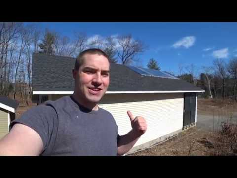 Solar Heated Garage Radiant Floor, Update