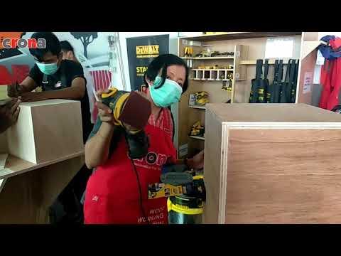 Making Cajon & Decoupage By Crona Academy