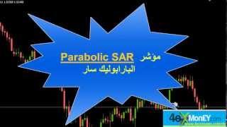 شرح مؤشر الفوركس parabolic SAR و كيفية تداول العملات به