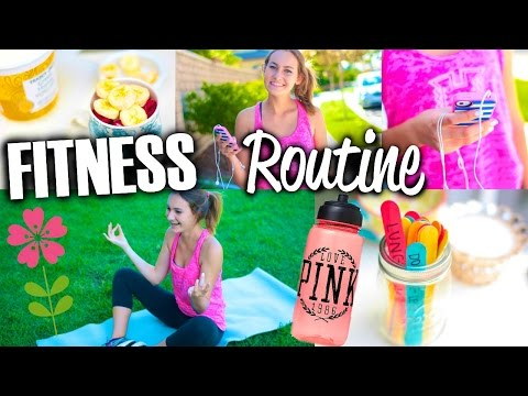 Fitness Routine + DIY Ways to Get Motivated to Workout!